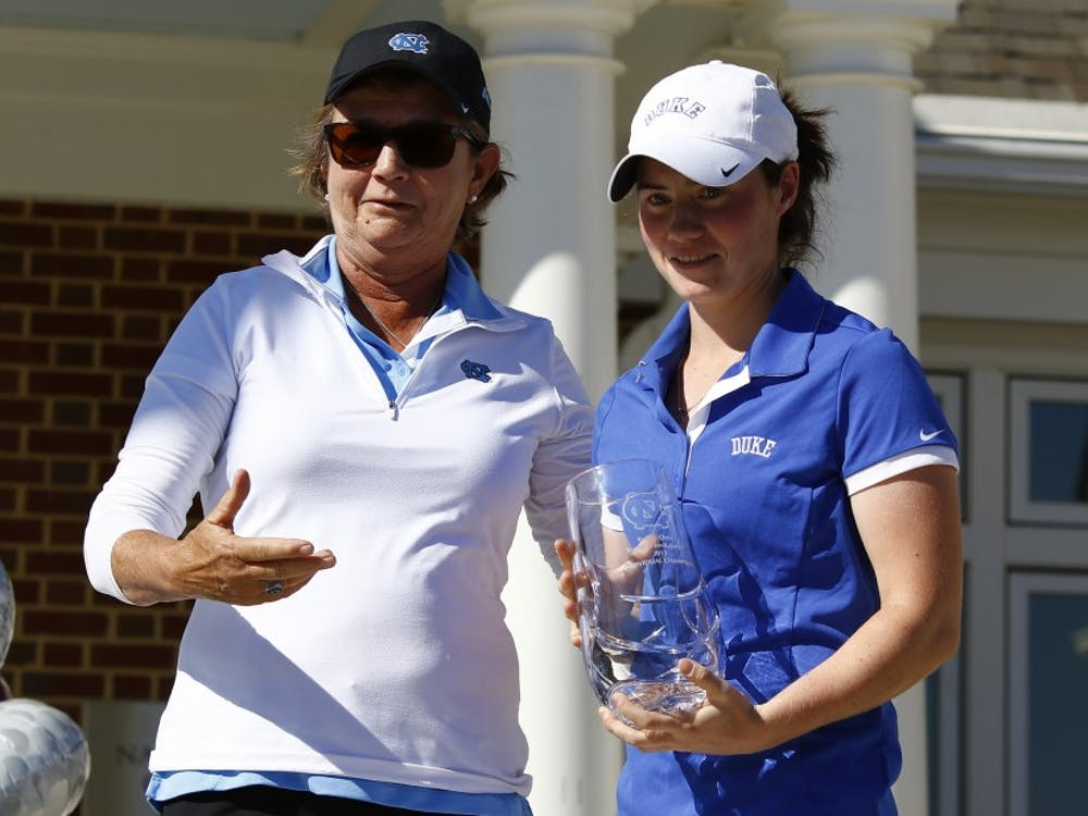 Sophomore Leona Maguire captured the individual title and led Duke to its third consecutive victory at the Tar Heel Invitational this weekend.