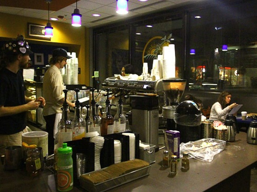 Joe Van Gogh coffee shop will close temporarily starting March 1 due to ongoing Bryan Center Plaza renovations. Duke notified the cafe's employees last week.
