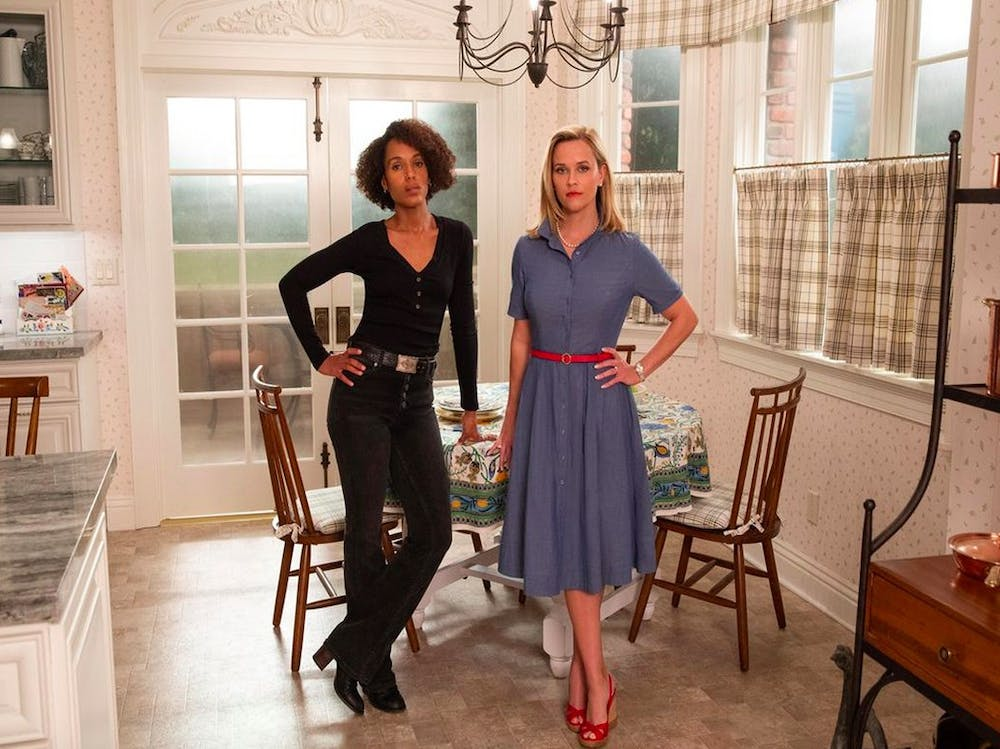 <p>Kerry Washington and Reese Witherspoon co-star in Hulu's acclaimed 'Little Fires Everywhere.'</p>