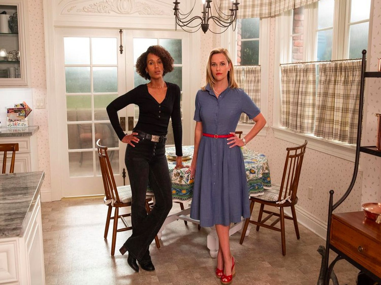 Kerry Washington and Reese Witherspoon co-star in Hulu's acclaimed 'Little Fires Everywhere.'