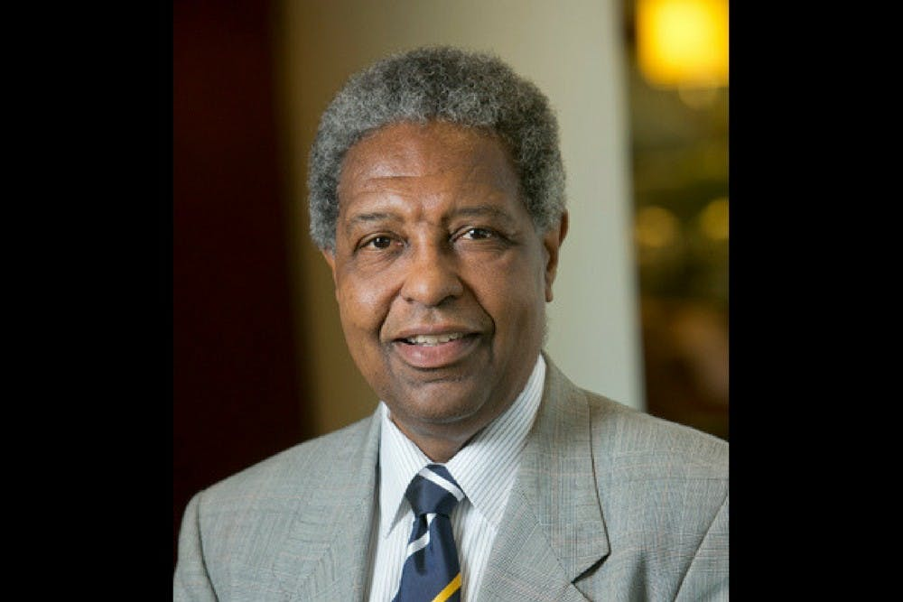 <p>William Darity's areas of expertise include education policy and stratification economics.</p>