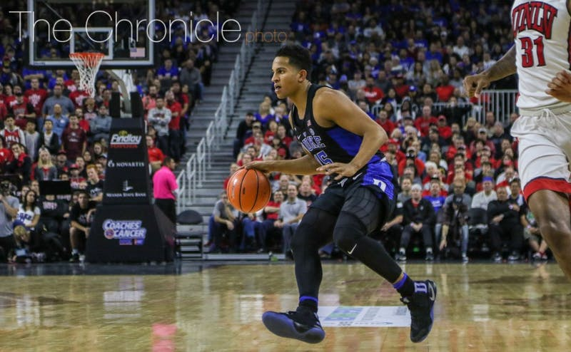 Frank Jackson and the Blue Devils stayed at No. 5 in the AP Poll despite Kentucky's dramatic win against North Carolina.