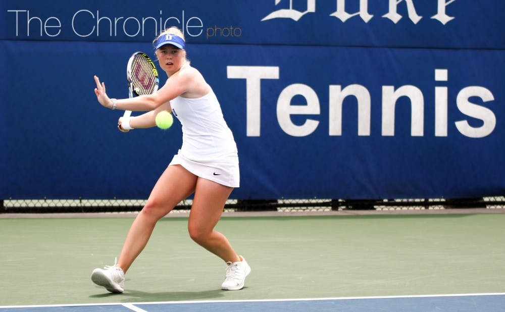 <p>Sophomore&nbsp;Kaitlyn McCarthy will open her season this week in&nbsp;Pacific Palisades, Calif., against some of the nation's best players.&nbsp;</p>