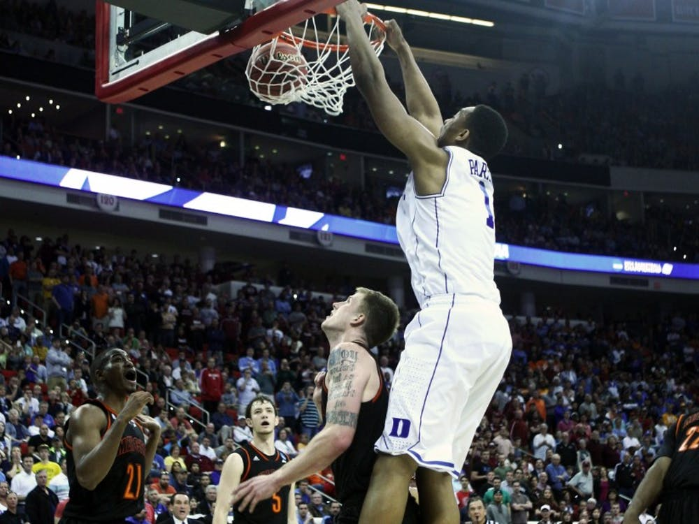 Blue Devil fans walked a fine line this March when filling out brackets, balancing love for their team with a gut feeling that it might not be Duke's year to cut down the nets.