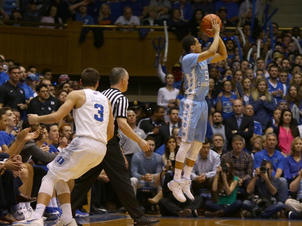 Marcus Paige and his teammates were stunned by Kris Jenkins' buzzer-beating 3-pointer to win the national championship.