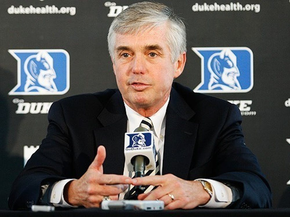 This will be Duke Athletic Director Kevin White's first major coaching hire during his 12 years in Durham.