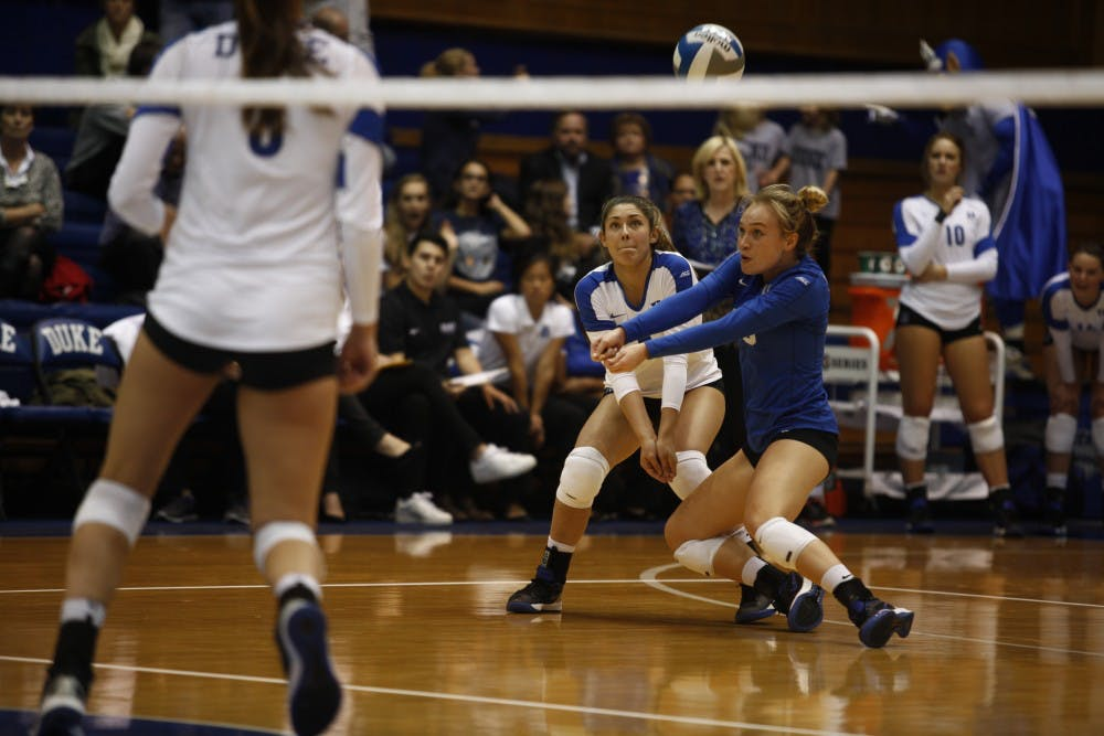 Duke volleyball hits the beach for summer training