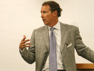 Tom Fetzer, chairman of the N.C. Republican Party and former mayor of Raleigh, said his party needs better candidates for the 2012 presidential election during an event sponsored by the Duke Political Union Tuesday.