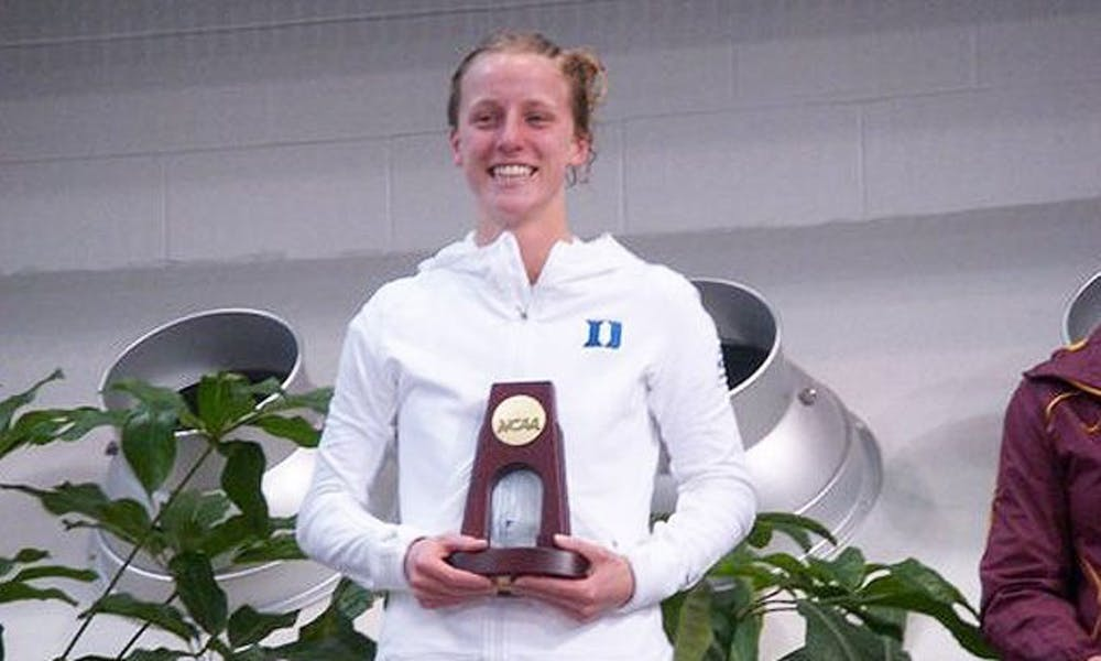<p>Former Blue Devil and Olympic silver medalist Abby Johnston and current Duke freshman Mackenzie Willborn will dive to improve their positioning for future competitions this week in Indianapolis.</p>