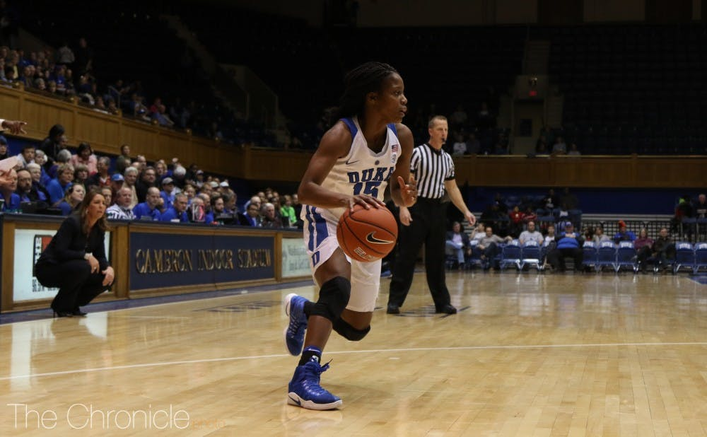 <p>Head coach Joanne P. McCallie revealed on her radio show Monday that Kyra Lambert will not play this season after tearing her ACL in March.</p>