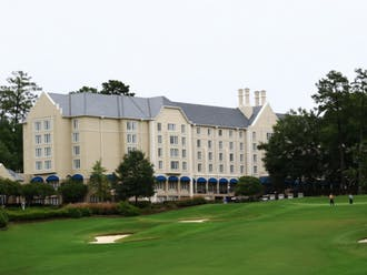 Duke's Board of Trustees meetings are typically held at the Washington Duke Inn.