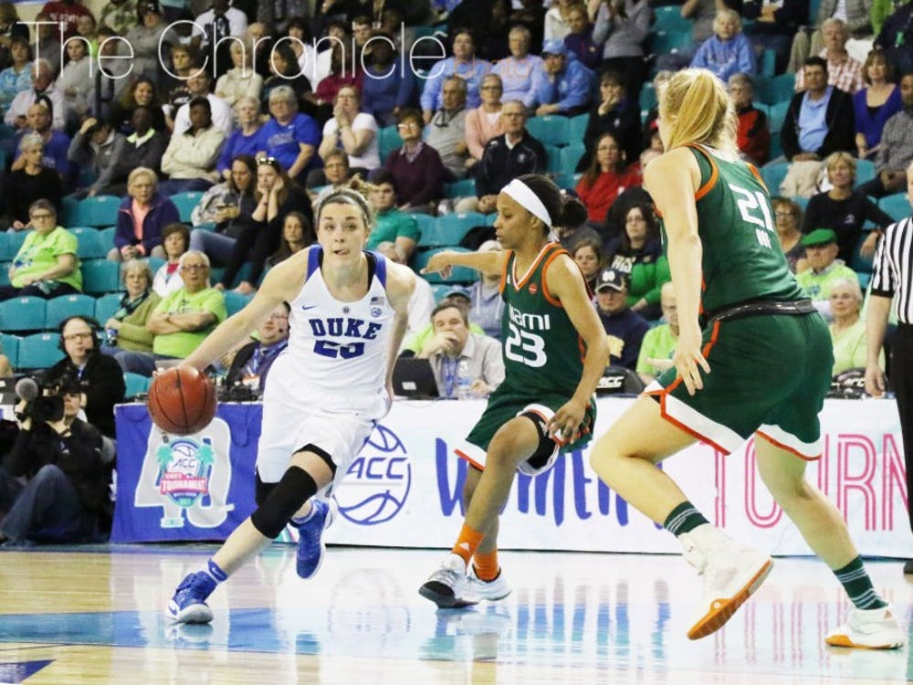 Rebecca Greenwell hit two timely 3-pointers in the fourth quarter Saturday and could make a big difference Sunday after a quiet first outing against Notre Dame.