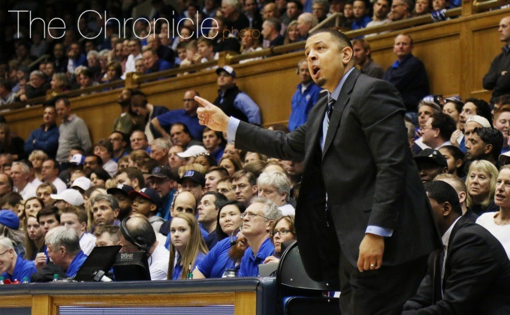 Jeff Capel will coach his first game in Cameron Indoor Stadium since becoming the Pittsburgh head coach.