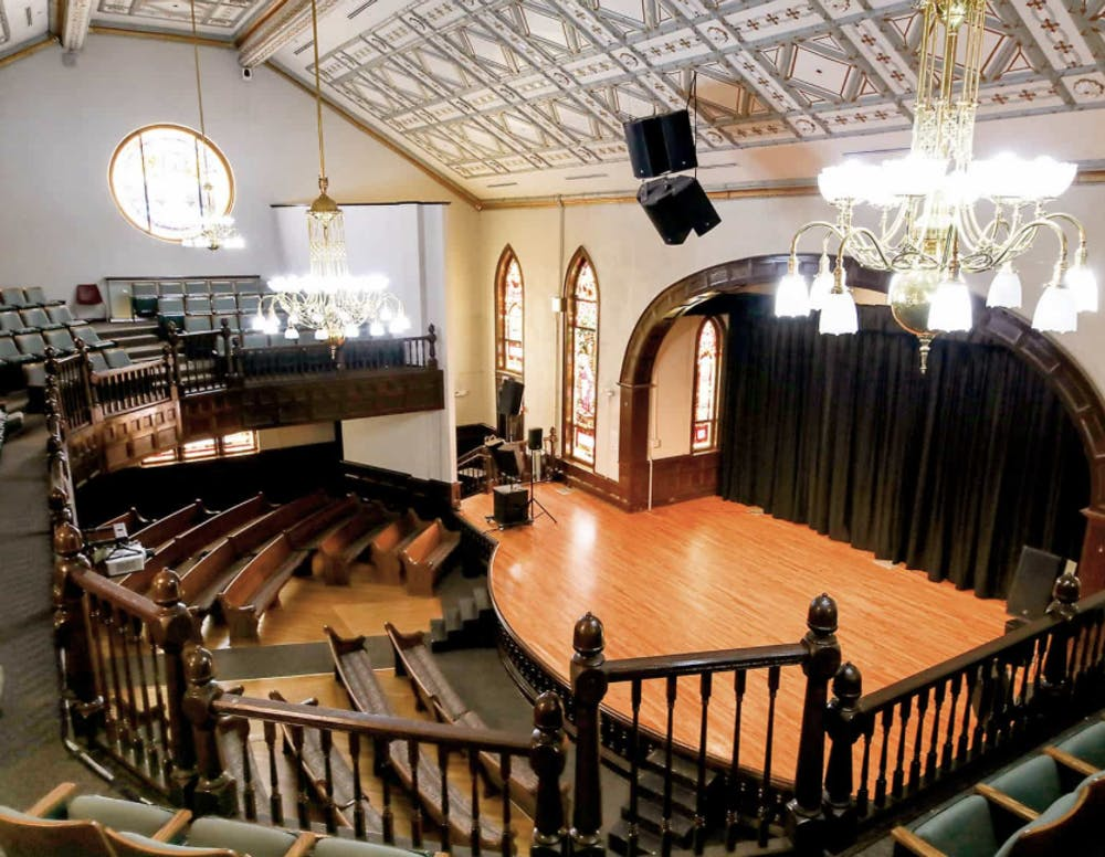 <p>The Hayti Heritage Center in Durham was the location of the Jambalaya Soul Slam poetry contest, where poetics competed for a chance to join the Bull City Slam Team.&nbsp;</p>