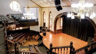 The Hayti Heritage Center in Durham was the location of the Jambalaya Soul Slam poetry contest, where poetics competed for a chance to join the Bull City Slam Team.