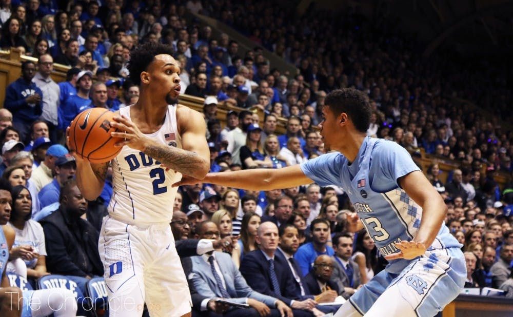 "<p><a href="""" target=""_self"">After shooting worse than 30 percent from deep in the month of November, Gary Trent Jr. has grown into Duke's most consistent 3-point threat.</a></p>"