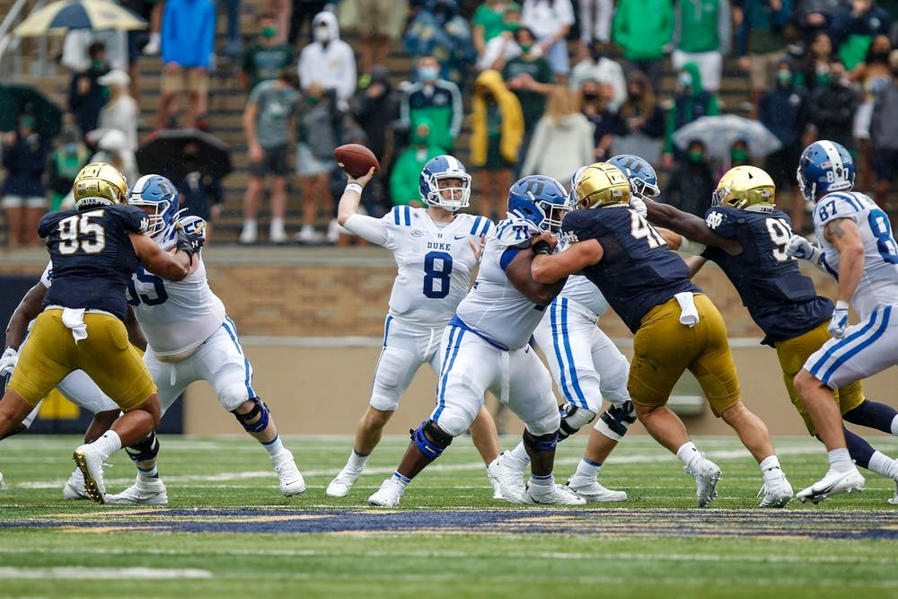Quarterback Chase Brice loves spreading the ball around, but Jarett garner may be emerging as a top candidate for targets.