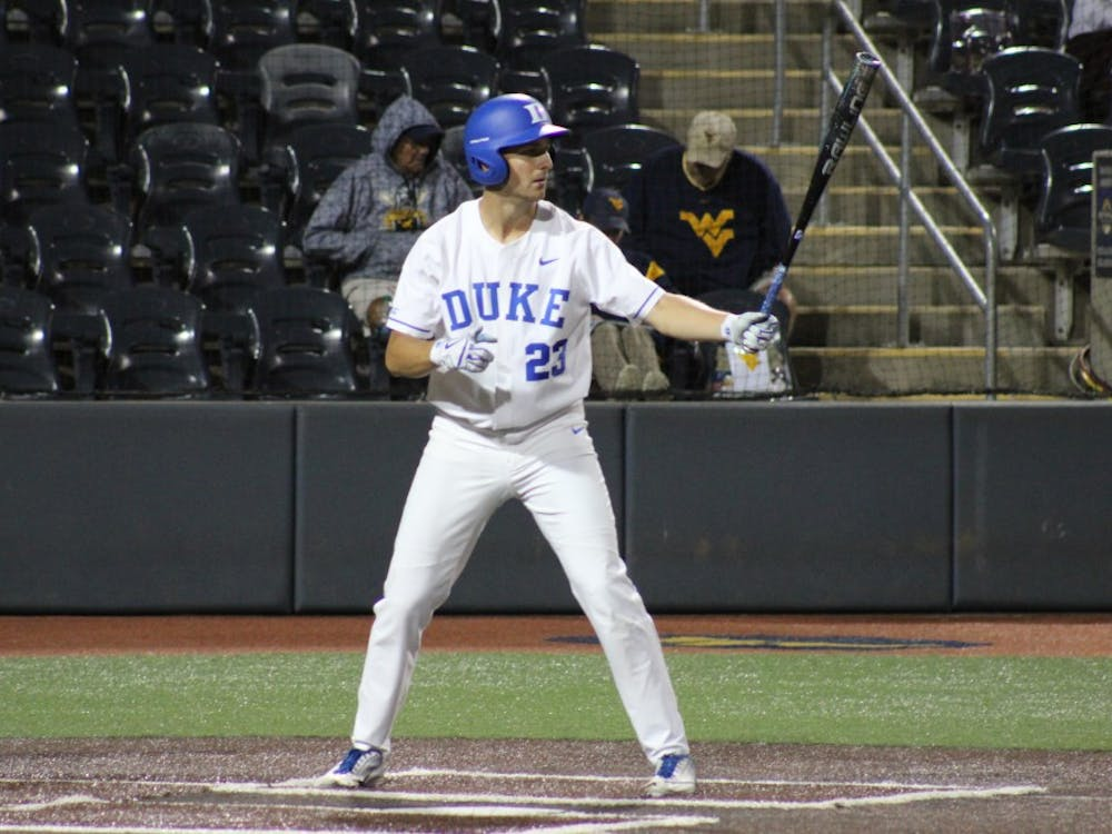 Kyle Gallagher's drove in all four of Duke's runs Sunday night.