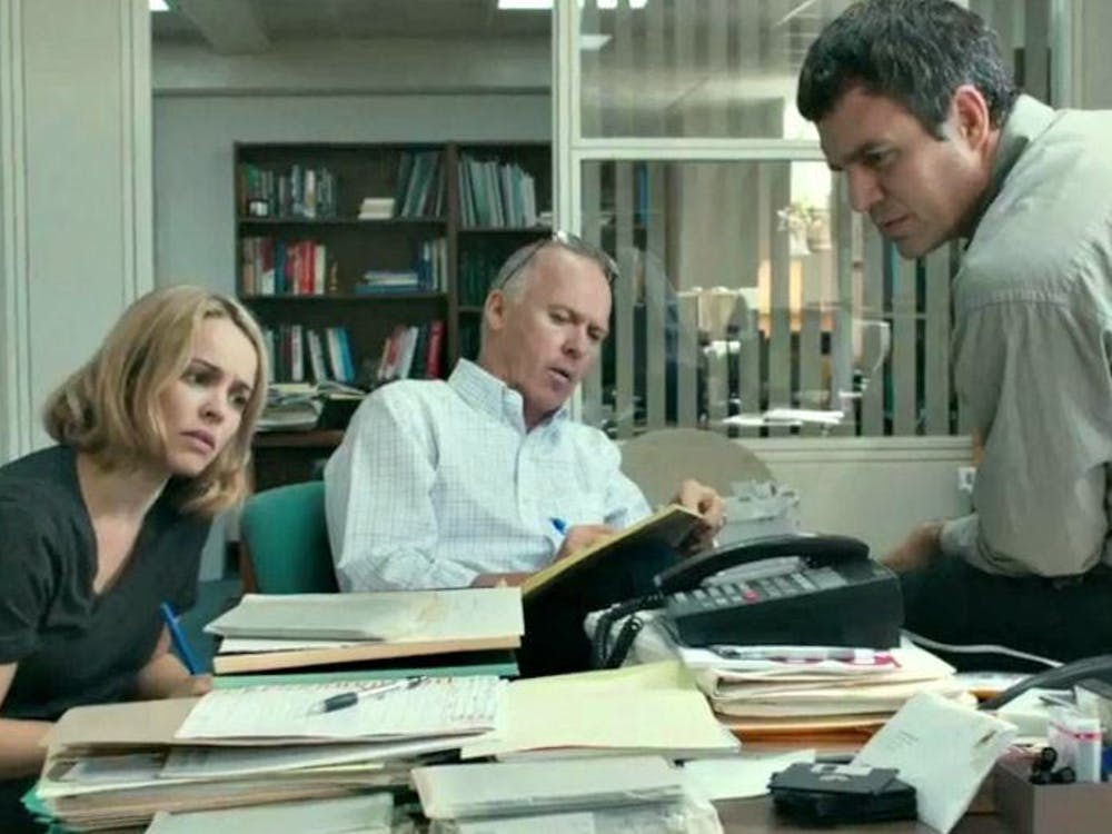 """""""Spotlight"""" stunned audiences last year with its depiction of the Boston Globe Spotlight team that exposed child sex abuse within the Boston Catholic Church."""