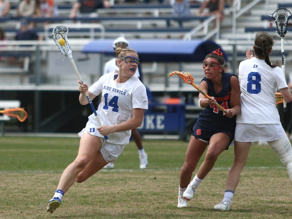 Olivia Jenner's six goals propelled Duke to a victory against Notre Dame.