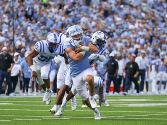 North Carolina broke the score open in the second quarter and never looked back.