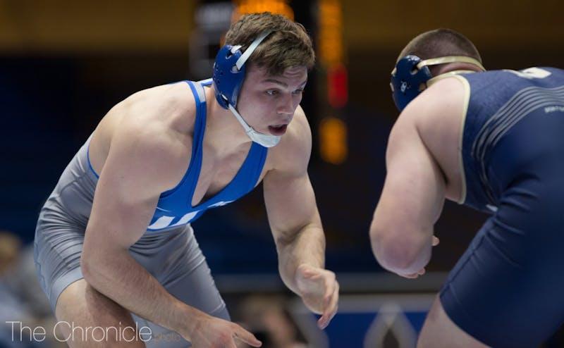 Jacob Kasper won his first ACC championship Saturday in Chapel Hill.