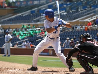 Joey Loperfido's two-run single in the 10th inning of Saturday's contest against Minnesota secured a winning weekend for Duke.
