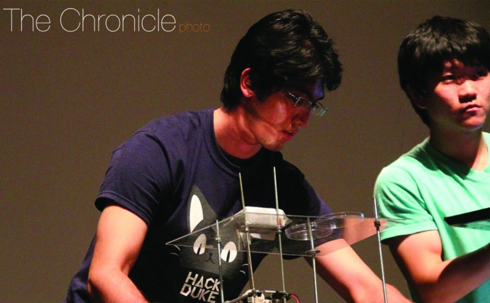 <p>Students will compete in creating the best hardware and software projects during a 24-hour competition at the third HackDuke event this weekend.</p>