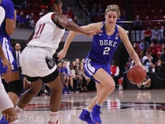 Haley Gorecki helped Duke climb back into the game, sparking a third-quarter run.