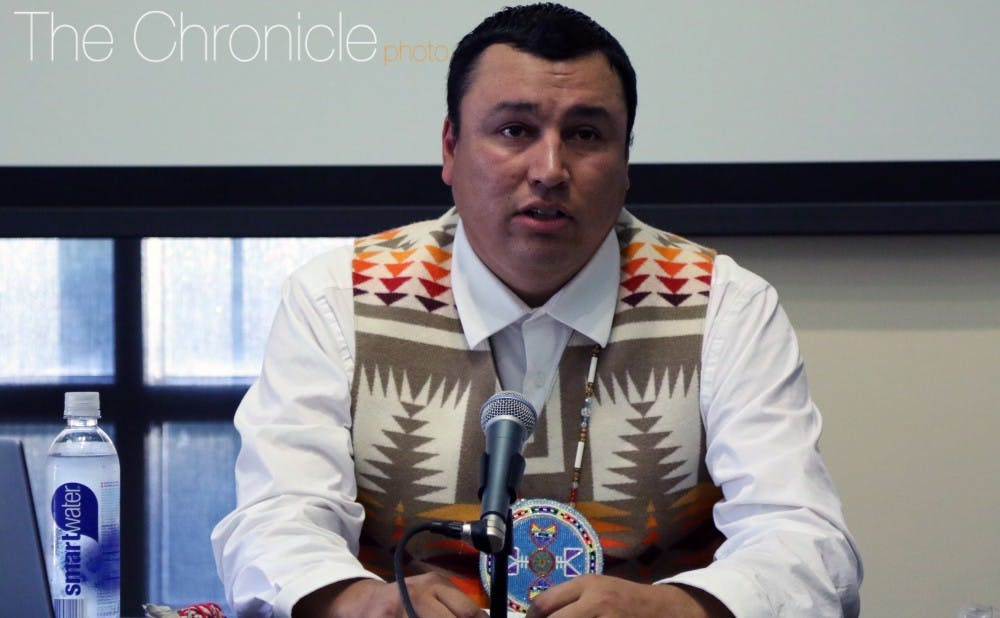 <p>The Sioux council members noted that the pipeline could pollute water resources.</p>
