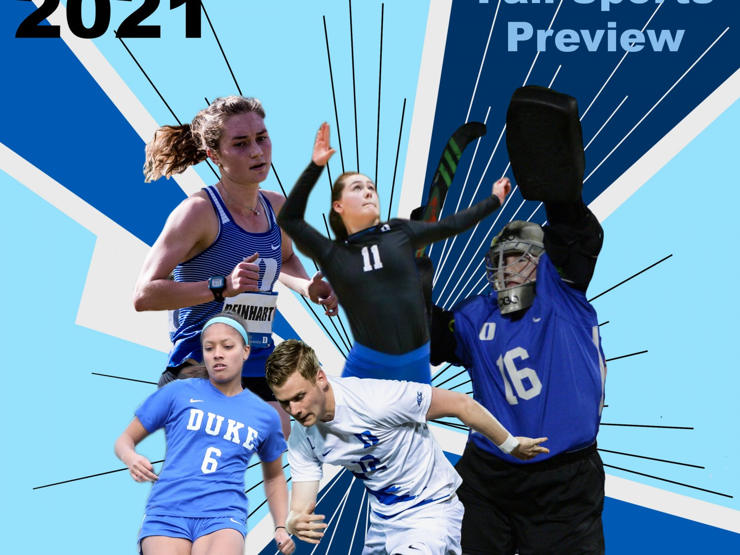 All of Duke's fall sports are set to be back in action this season.