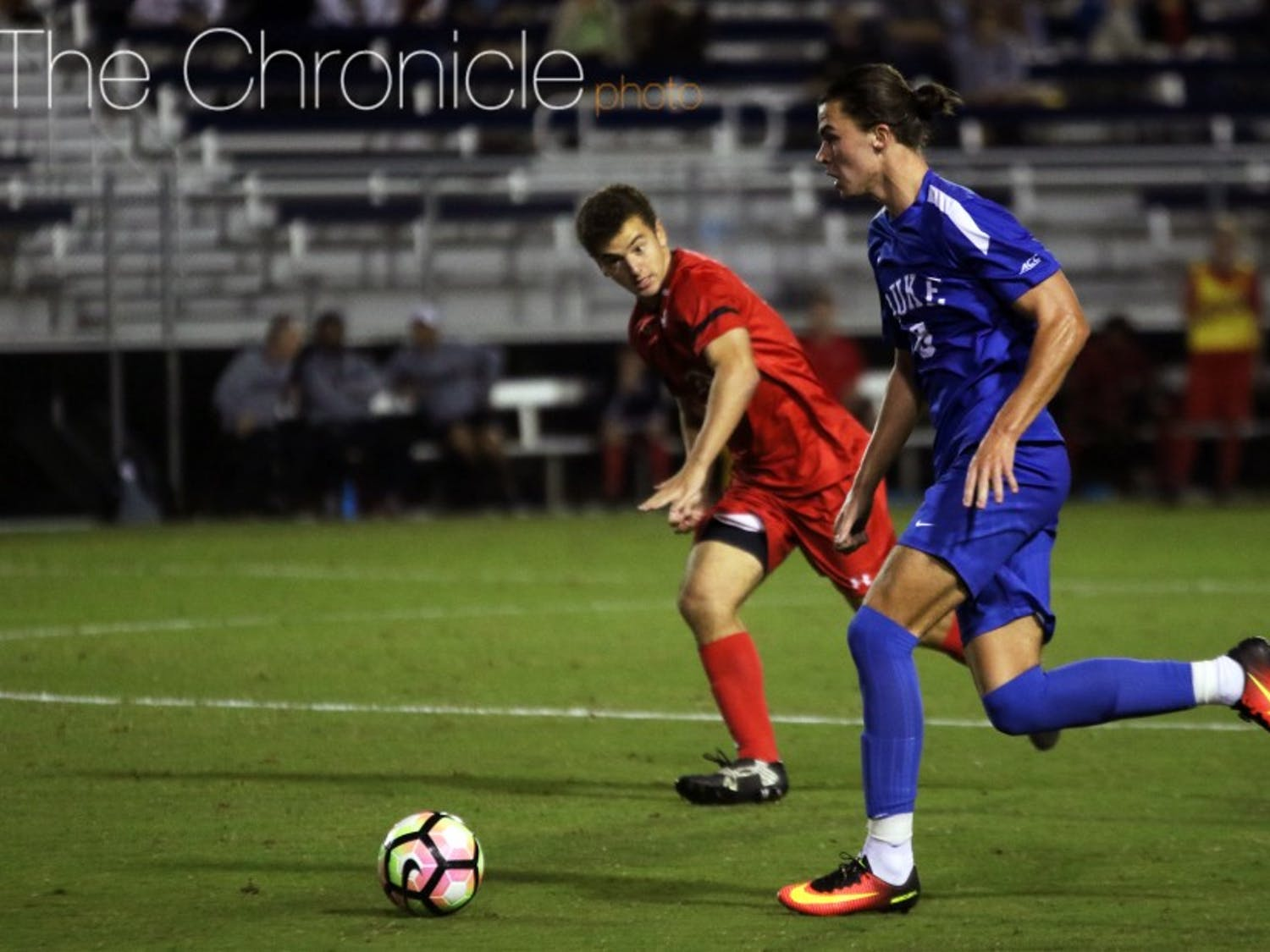 The Blue Devils gave up three goals for the first time this season Tuesday, dropping a home nonconference game for the second straight week.