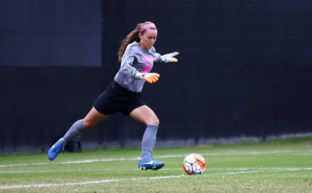 <p>Goalie E.J. Proctor leads Duke into a Final Four showdown with Florida State after a few huge penalty kick saves in the team's Elite Eight win.</p>