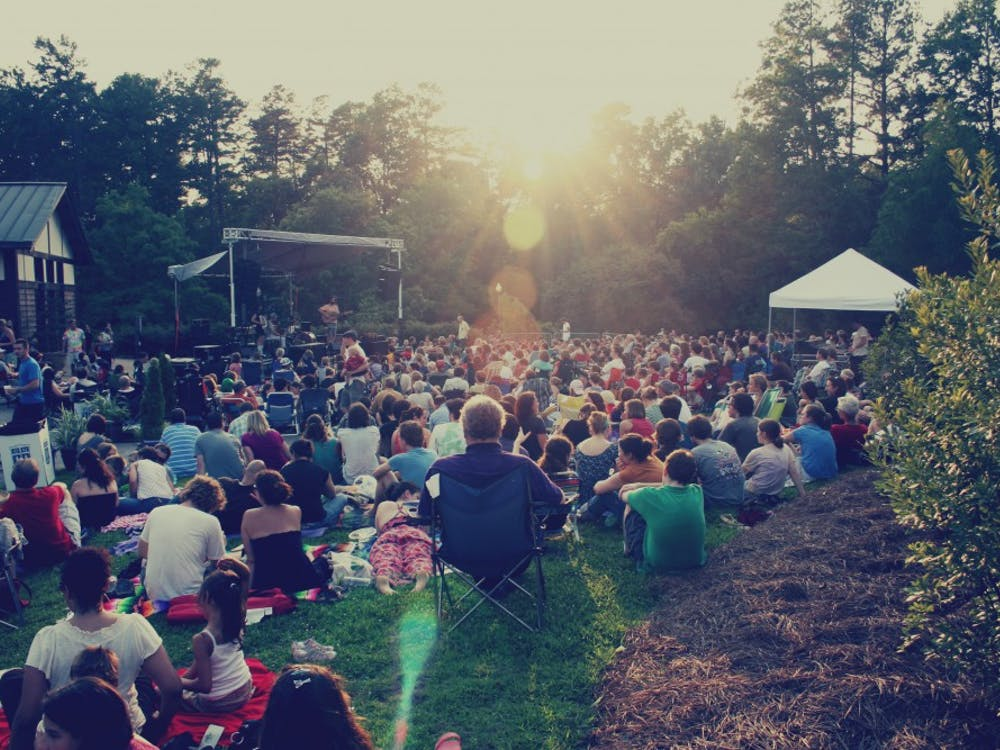 Every Wednesday duringJune and July, Duke Performances presents a series of concertsin Duke Gardens.
