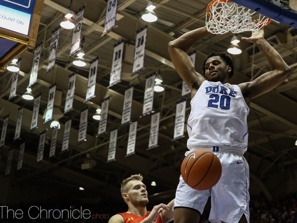 Marques Bolden proved to be a consistent contributor in his junior campaign and is leaving the door open to return for his final season at Duke.