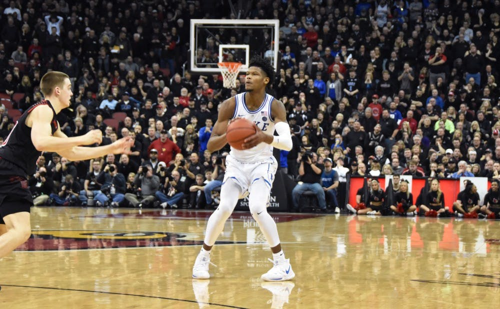 <p>Cam Reddish's perimeter shooting was essential for Duke's last-minute comeback.</p>
