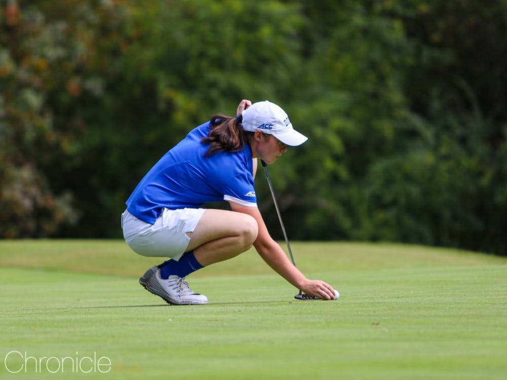 Leona Maguire missed the Tar Heel Invitational last year with an injury as Duke slumped to a 10th-place finish.