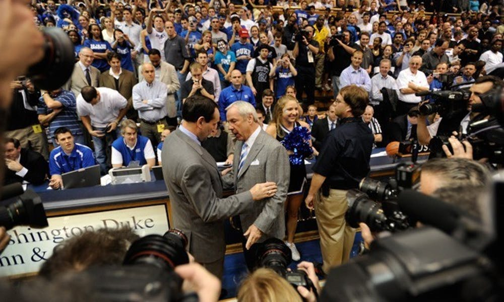 In total, Williams and Krzyzewski coached against one another 44 times, with the latter holding the 25-19 edge.