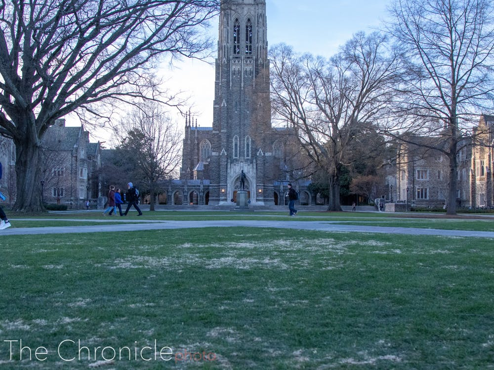 Grass At Duke How Much Does It Cost To Maintain Abele Quad The