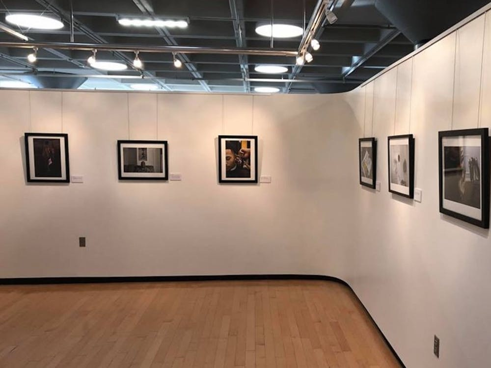 """black.,"" which opened Monday in the Louise Jones Brown Gallery, features photos of black Americans met by senior Evan Nicole Bell."