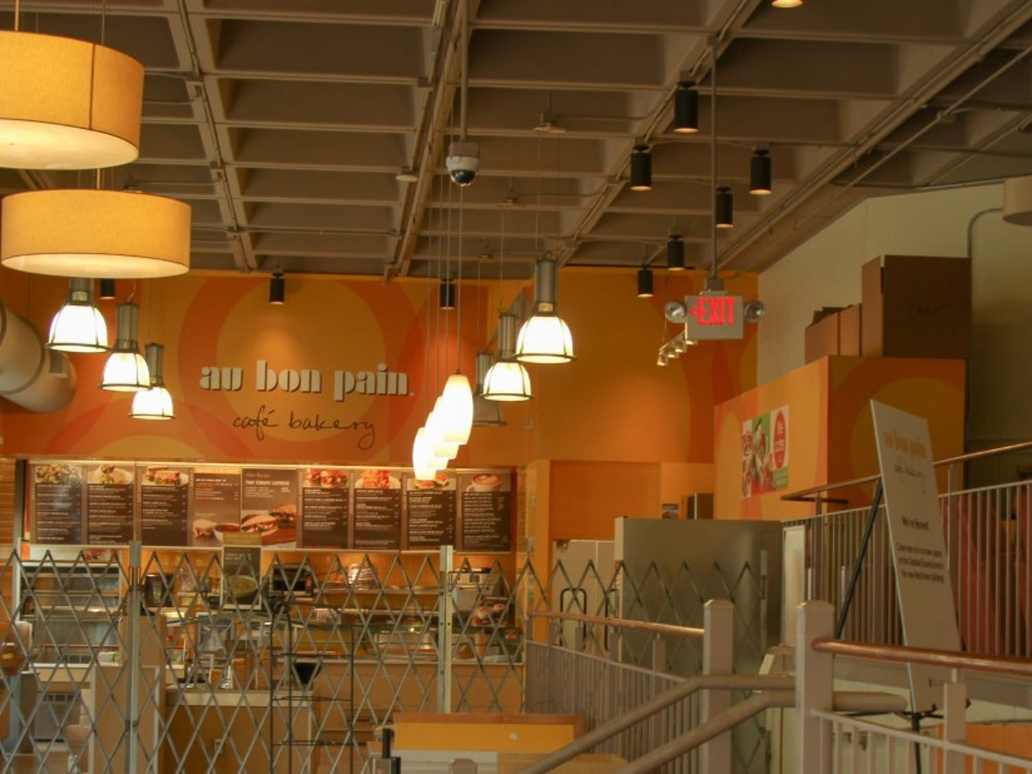 The space formerly occupied by Au Bon Pain will be used for events, with renovations set to be completed by the Spring.