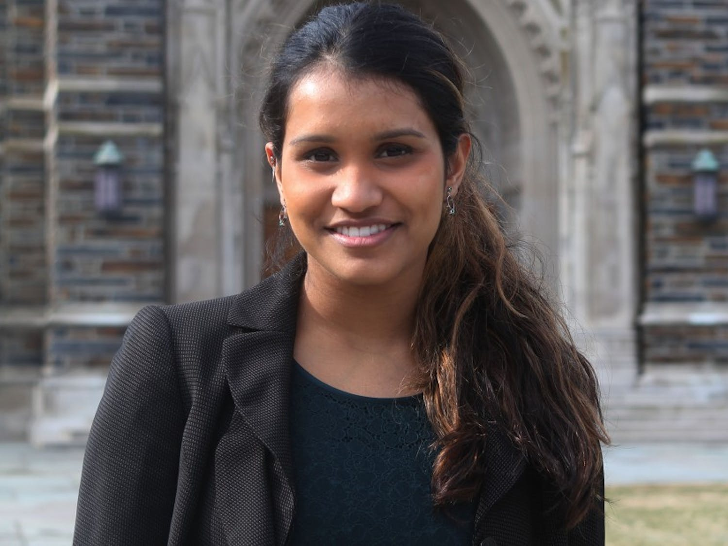 Junior Lavanya Sunder will work to enact her vision as this year's Duke Student Government president.