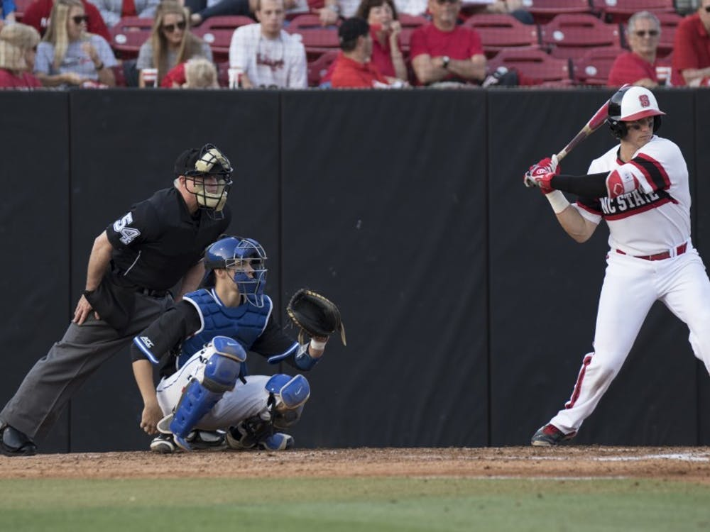 N.C. State exploded for 12 runs Saturday after a seven-run fifth inning which was aided by multiple Duke fielding errors.