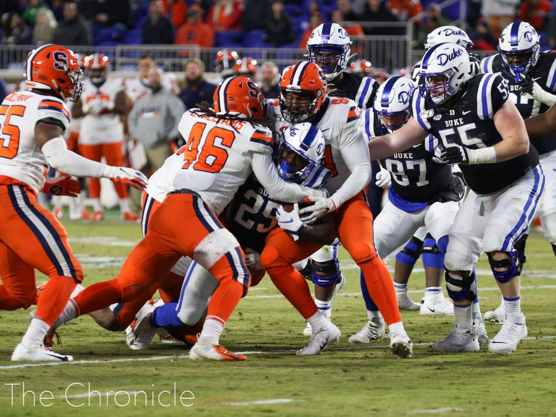 Syracuse bottled Duke up last week.