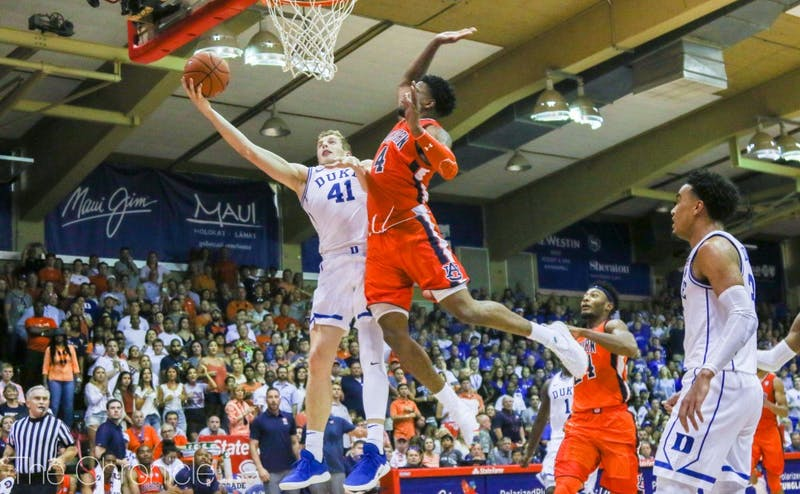 Duke faced its most adversity to through five games Tuesday.