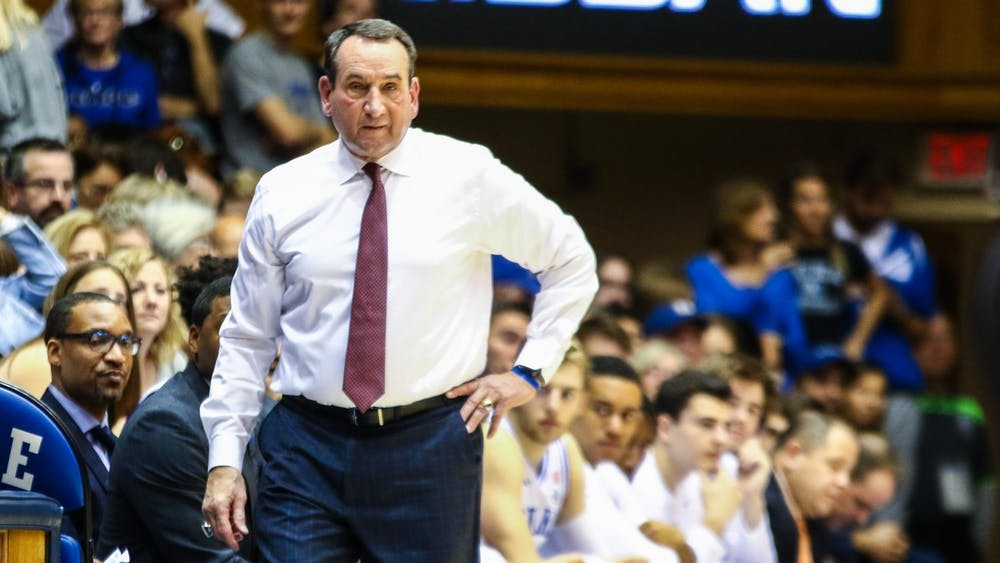 "Coach Krzyzewski joined former Blue Devil Billy King on ""Angelo Cataldi and the Morning Team,"" a Philadelphia based podcast."