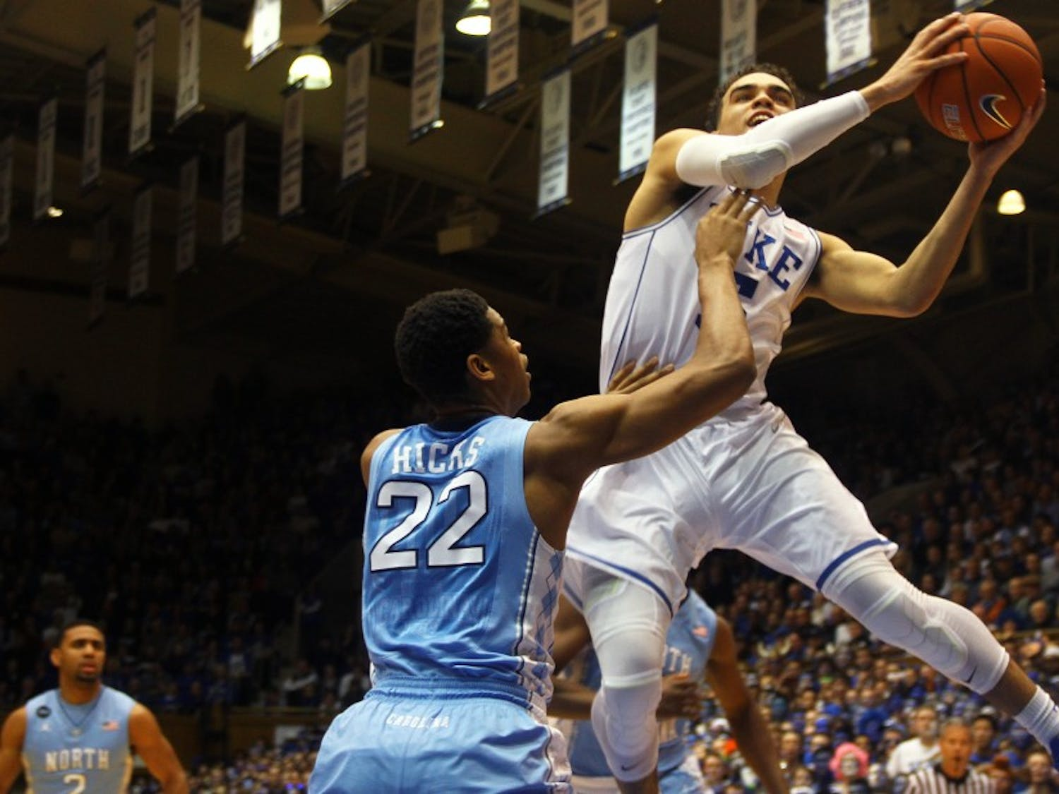 Tyus Jones showed how clutch he was by leading an improbable comeback Feb. 18 against North Carolina.
