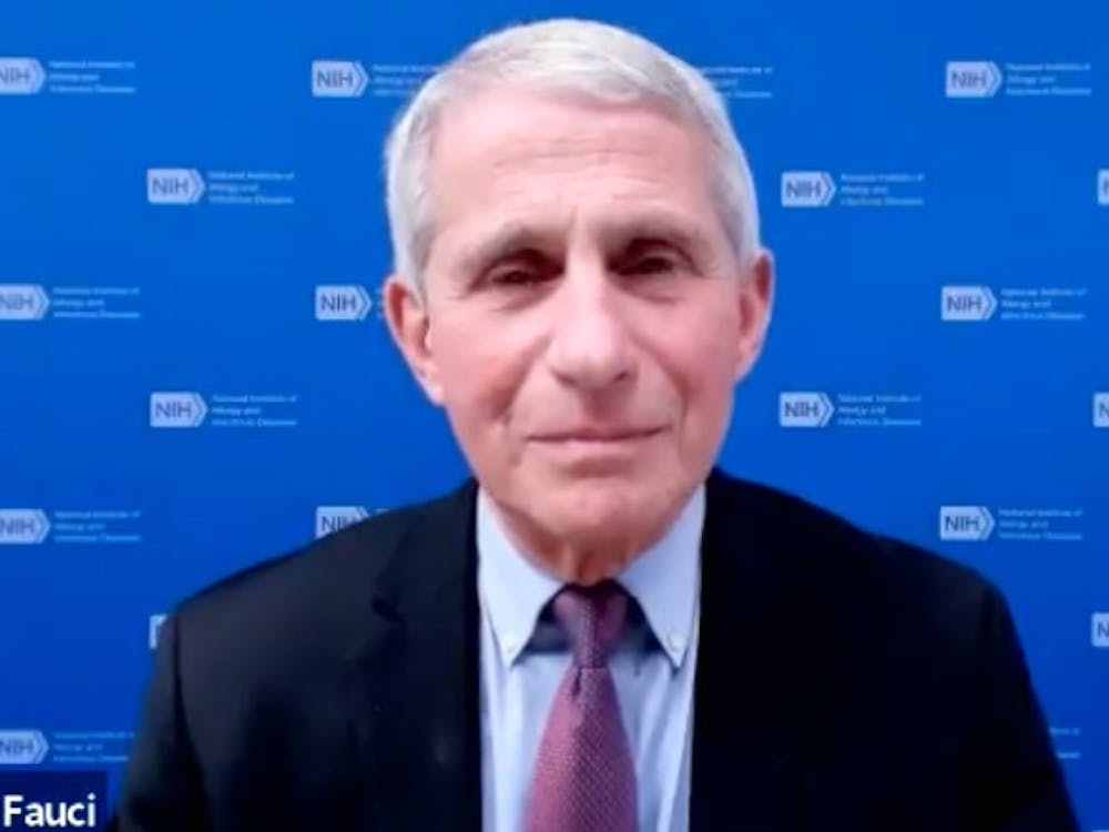 Anthony Fauci spoke about the COVID-19 vaccination effort in a Feb. 10 talk.