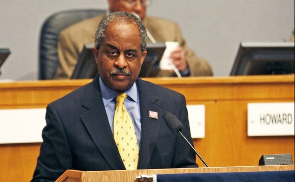<p>Durham Mayor Bill Bell is focused on improving transportation and reducing poverty as he navigates his 15th year leading the city. Bell delivered the State of the City address last Monday.</p>