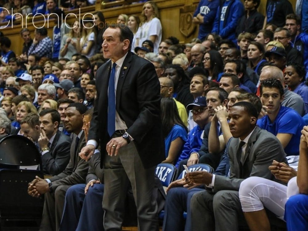 Mike Krzyzewski has had a busy offseason trying to piece together Duke's recruiting class after losing seven players to graduation, the NBA or transfers.
